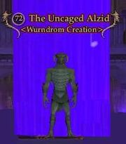 The Uncaged Alzid