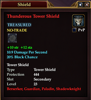 Thunderous Tower Shield
