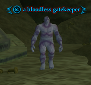 A bloodless gatekeeper