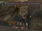 A restless Cabilisian dragoon