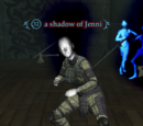 A shadow of Jenni