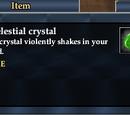 An elestial crystal