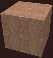 Block of rhodium