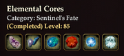 Elemental Cores
