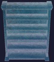 Glacial bookcase (Visible)