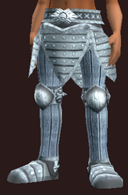 Knight's Greaves of the Citadel (Equipped)