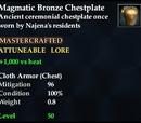 Magmatic Bronze Chestplate