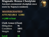 Magmatic Bronze Chestplate