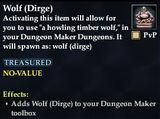 Wolf (Dirge)