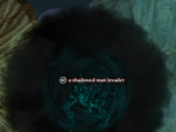 A shadowed man invader (solo)