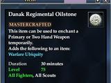 Danak Regimental Oilstone
