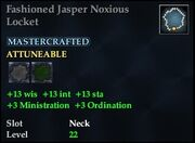 Fashioned Jasper Noxious Locket