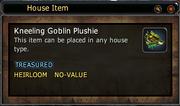 Kneeling Goblin Plushie