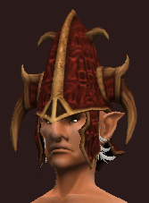 Sacrosanct Cap of the Stormbringer (Equipped)