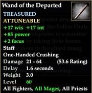 Wand of the Departed