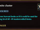Xegonite cluster (No-Value)