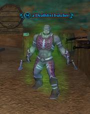 A Deathfist butcher
