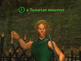 A Tunarian mourner