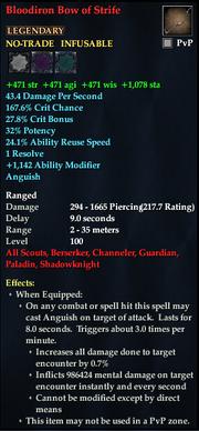 Bloodiron Bow of Strife