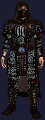 Dark Mail Armor of the Voice (Armor Set) (Visible, Male)