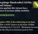 Deepforge Handcrafted Ability Mod Infuser