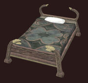 Maple Single Bed Placed