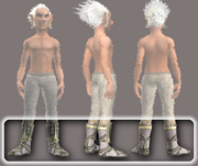 Naturewalker's Leather Boots (Equipped)
