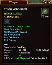Swamp Ash Cudgel