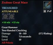Zealous Great Mace