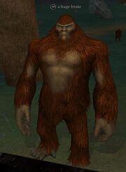 A huge brute