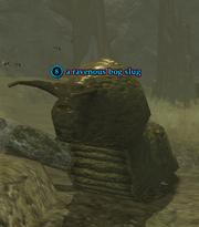 A ravenous bog slug