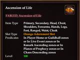 Ascension of Life (Orange, no-trade)
