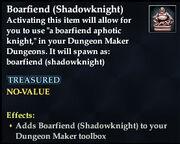 Boarfiend (Shadowknight)