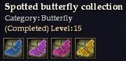 CQ butterfly spotted Journal