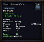 Essence Infused Club