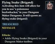 Flying Snake (Brigand)