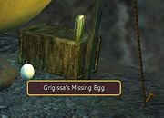 Grigissa's Missing Egg