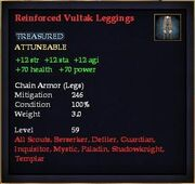 Reinforced Vultak Leggings