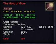 The Hand of Glory (Item)