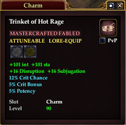Trinket of Hot Rage