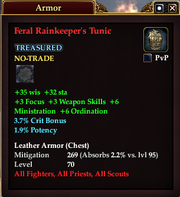 Feral Rainkeeper's Tunic