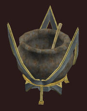Gilded-cauldron