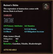 Ruiner's Helm
