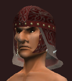 Russet Helm of the Far Seas Traders (Equipped)
