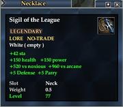 Sigil of the League