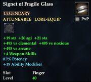 Signet of Fragile Glass