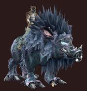 Velium-Saddled Warhog (Equipped)
