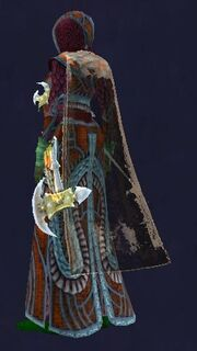Ra'zhish's Cloak of Flowing Power equipped