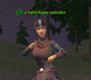 A Sableflame outrider