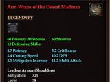 Arm Wraps of the Desert Madman